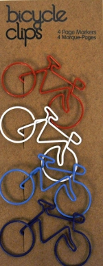Bycicle paperclips