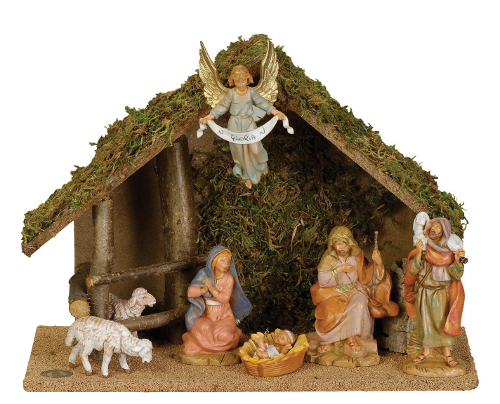 fontanini nativity set - Christian Christmas Decorations