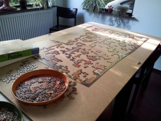 Huge Jigsaw Puzzle