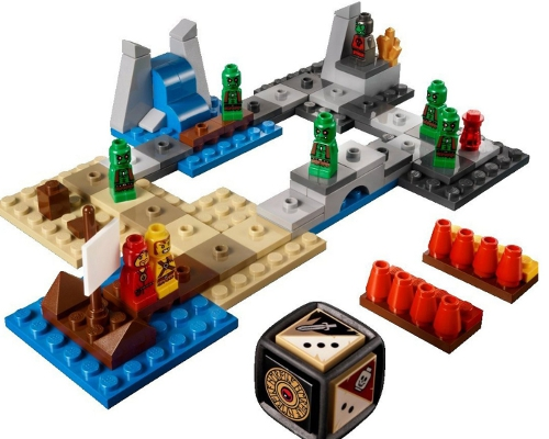 Lego Heroica Board Game