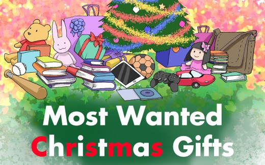 Most Wanted Christmas Gifts