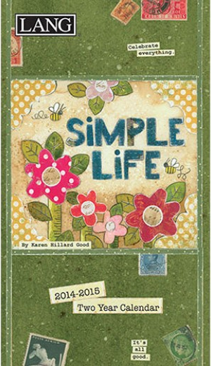 Simple Life two year calendar planner