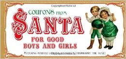 Santa Coupons for Good Boys and Girls