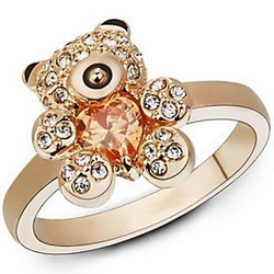 Gold Teddy Ring