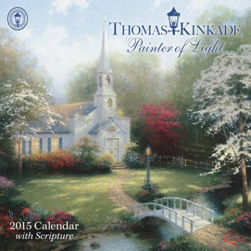 Thomas Kinkade Scripture Calendar